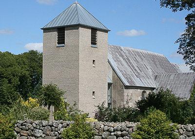 Gesten Kirke nyt kirketårn