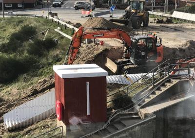 Etablering af gangtunnel under Søndergade