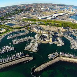 Marselisborg Lystbådehavn – Den blå promenade
